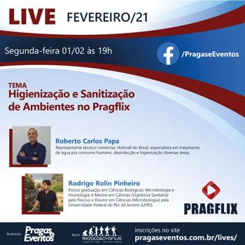 Higienização e Sanitização de Ambientes no Pragflix