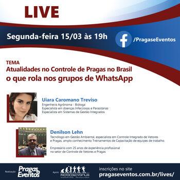 Atualidades no Controle de Pragas no Brasil, o que rola nos grupos de WhatsApp