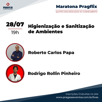 Maratona Pragflix - Higienização e Sanitização de Ambientes