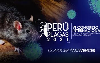 VI Congreso Internacional - Virtual de Manejo Integrado de Plagas   Peru Plagas 2021